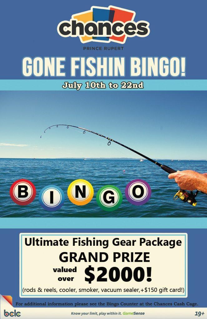 Chances - Bingo Gone Fishin WEB poster 2017