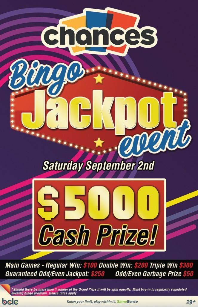 Chances - Bingo Jackpot Event WEB 2017