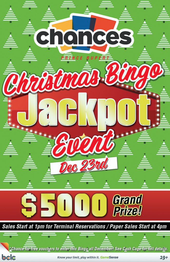 Chances - Bingo Xmas Jackpot Event WEB