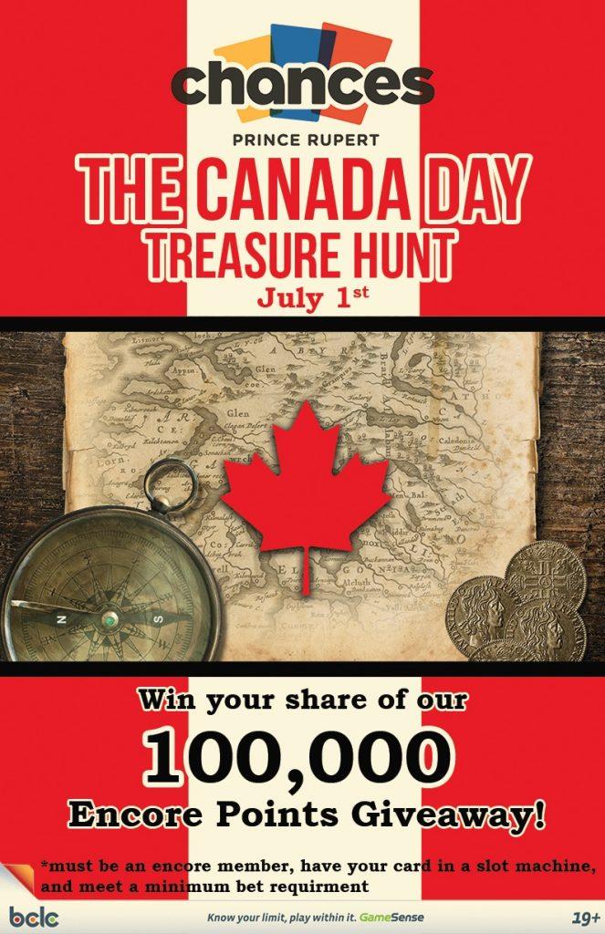 Chances - Canada Day Treasure Hunt WEB poster 2017