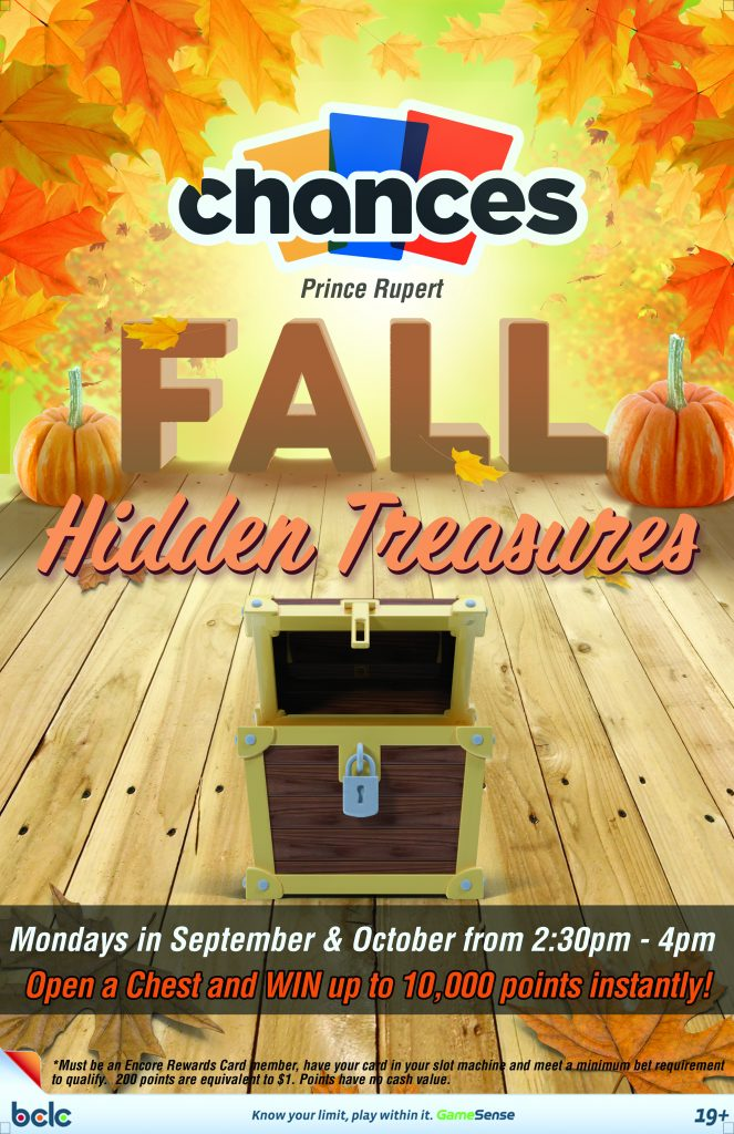 Chances - Fall hidden  treasure 2017