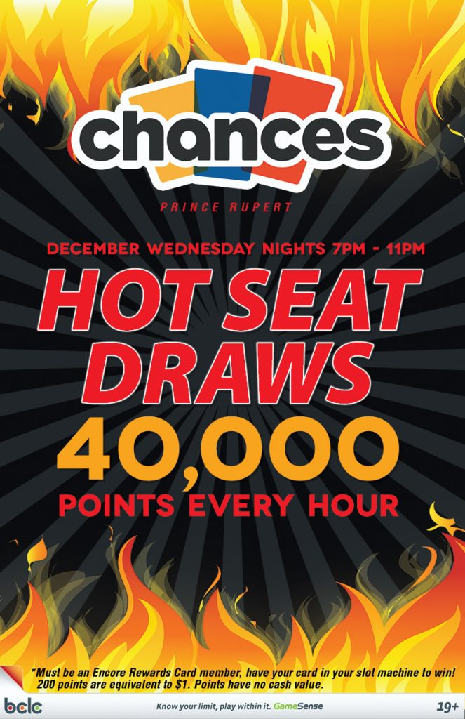 Chances - Hot Seat Draw December WEB