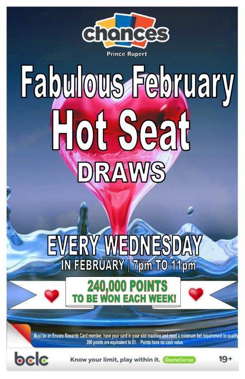 Feb - Fab Feb Hot seat